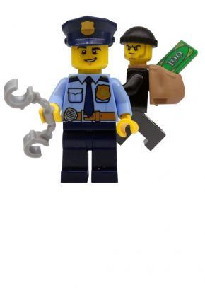 Lego Politie met boef